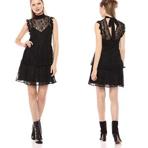 Bcbgeneration Bcbg lace dress black NWT small